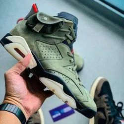 Jordan - Air Jordan 6 Retro Cactus Jack - Travis Scott - Unisex - Rubber/ Leather