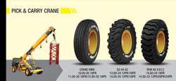 JK Crane Tyre 13.00-24., For Construction