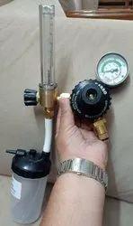 Fine Adjustment Valve With Oxygen Flow Meter