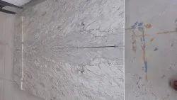 Slab River white granite, Thickness: 15-20 mm