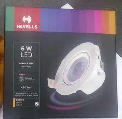 Round Havells Cob Light, For Indoor
