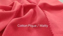 Cotton Matty Knitted Fabric