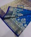 Banarasi Embroidered And Stone Work Sarees