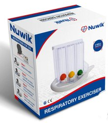 3 Ball Respiratory Exerciser Spirometer Packaging Box