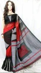 Handloom Silk Cotton Ikkat Saree