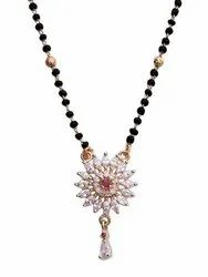 Wedding Silver Mangalsutra, 12 To 25 Gram, Size: 16 To 24 Inches