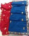 Pure chinon silk sarees