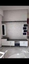 Ingress PVC Modular TV Unit, For Home