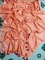 Mulmul Cotton Stripes Sarees