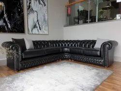 L Shape Leather sofa set, For Home