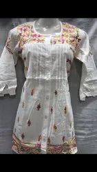 White Cotton designer top