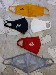 Customised Printed Cotton Face Masks