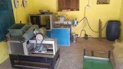 Semi Automatic Detergent Cake Making Machine