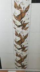 Glossy Gloss Bathroom Wall Tiles, 9 Pcs, Thickness: 5-10 mm