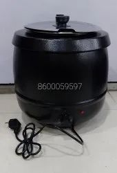 Ss Electric Metal Soup Kettle