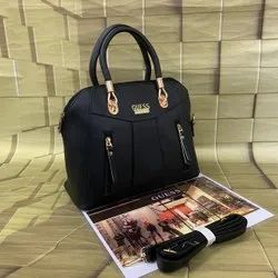PU Leather Plain Guess Handbags