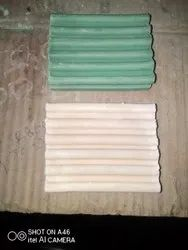 Sandal White And Green Loose Detergent Cake, Shape: Rectangle, Packaging Size: 100
