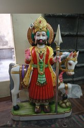 Marble Baba Ram Dav Statue