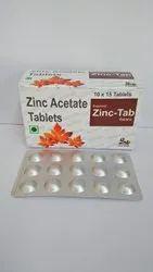 Zinc Acetate 50mg Tablets