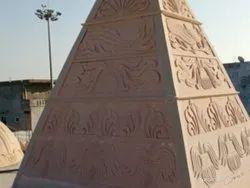 Sandstone Temple Construction