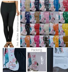 Laira Cotton Ladies Leggings, Size: Free Size