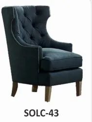 Sunny Overseas SOLC-43 Sofa Chair, For Hotel, Back Style: High Back
