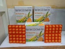Vitamin C And Zinc Chewable Tablet