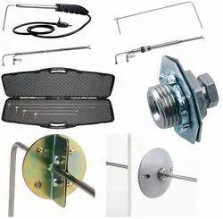 Dwyer 166-6 Stainless Steel Pitot Tube 6 Insertion Length 1/8 Diameter 3 Tip