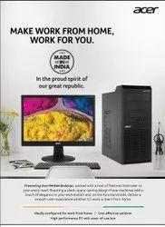 i3 Acer Desktop Computer, Win10, Model Name/Number: Veritron