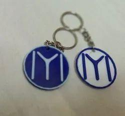 3B Universal Plastic Ertugrul Keychain, Packaging Type: Box, Size: 40Mm