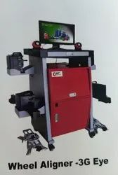 Automatic Ccd Wheel Alignment Machine, Model Name/Number: 3GEYE, Single Phase