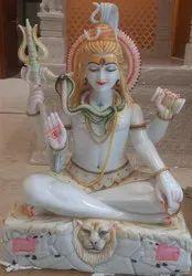 Vetnam marble shiva statue 3 feet
