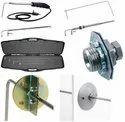 Dwyer 166-12 Stainless Steel Pitot Tube,12 Insertion Length,1/8 Diameter,3 Tip