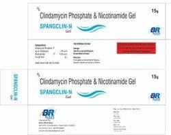 Clindamycin Phosphate & Nicotinamide Gel ( Spangclin-N)