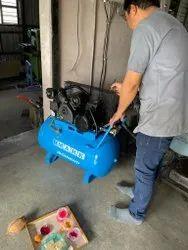 Saimona Air Mech Pvt Ltd 0.5 HP Compressor, Intake: 0-200 cfm