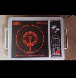 Black 2000 Watt Surya Halogen Cooker, Model Number: Ss 19, Capacity: 5 Kg