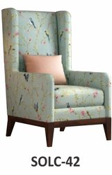 Antique SOLC-42 Sofa Chair, For Hotel, Back Style: High Back