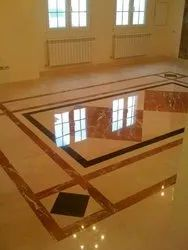Mirror Finished Marble Floor Polishing Service