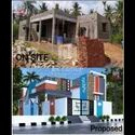 Home Building Construction With Material