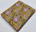 Bagru Hand Block Print Cotton Running Fabric
