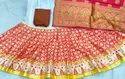 New Beautiful Banarasi Lehenga Chunni Set