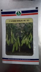 Sungrow 183 hybrid Brinjal seeds, For Agriculture, Packaging Size: 10 Gm