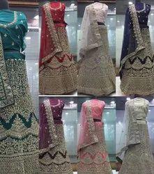 Embroidery partywear lehenga