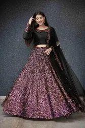 Wedding Wear Pink Designer Lehenga, 18