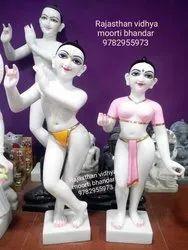 Iskon Radha Krishna Statue