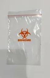 Biohazard Ziplock Bag