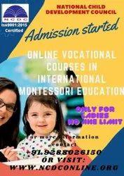 Online International Montessori/preschool Teacher's Training