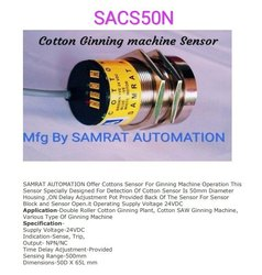 Mild Steel Textile Machinery Spare Parts Cotton Ginning Sensor, For Textile Industry, Model Name/Number: SACS50N