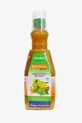 Nutramla Amla Herbs Mix Juice, Packaging Type: Bottle