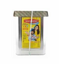 ruchi Mahakosh Soyabean Oil 15 Litre, Packaging Type: tin